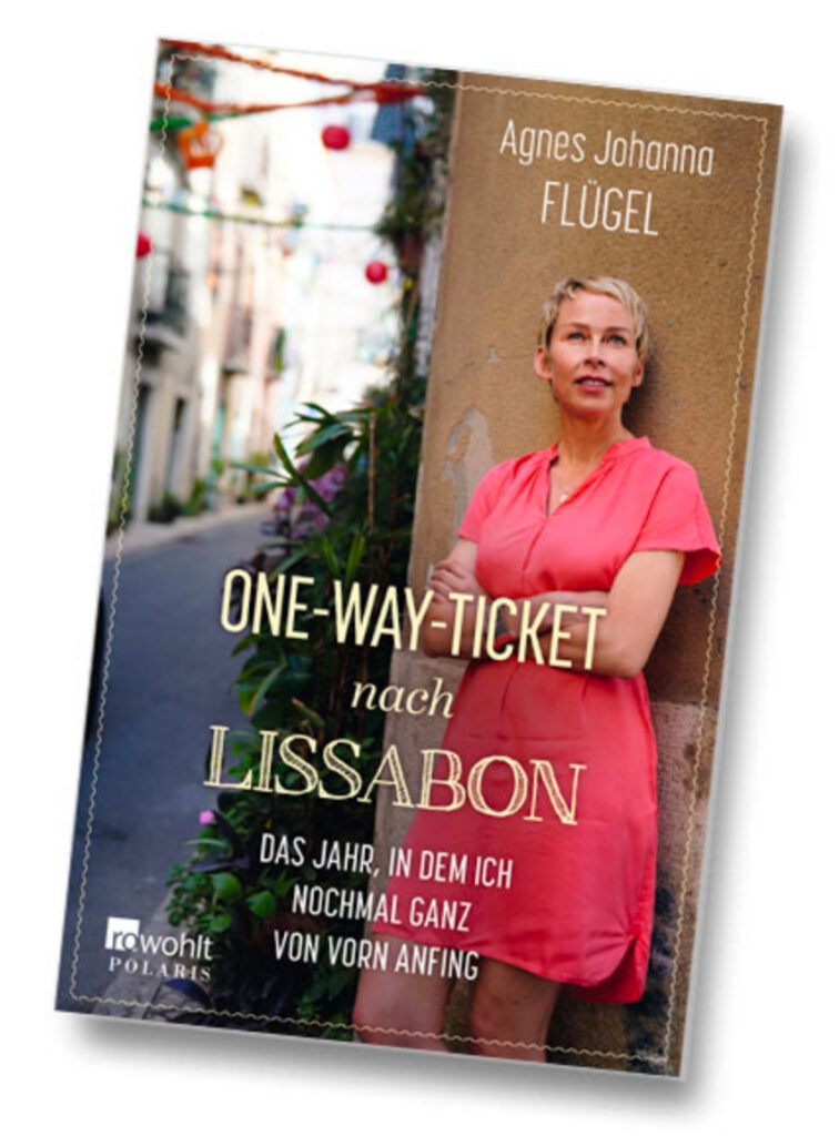 """Buch """"One-Way-Ticket nach Lissabon"""""""