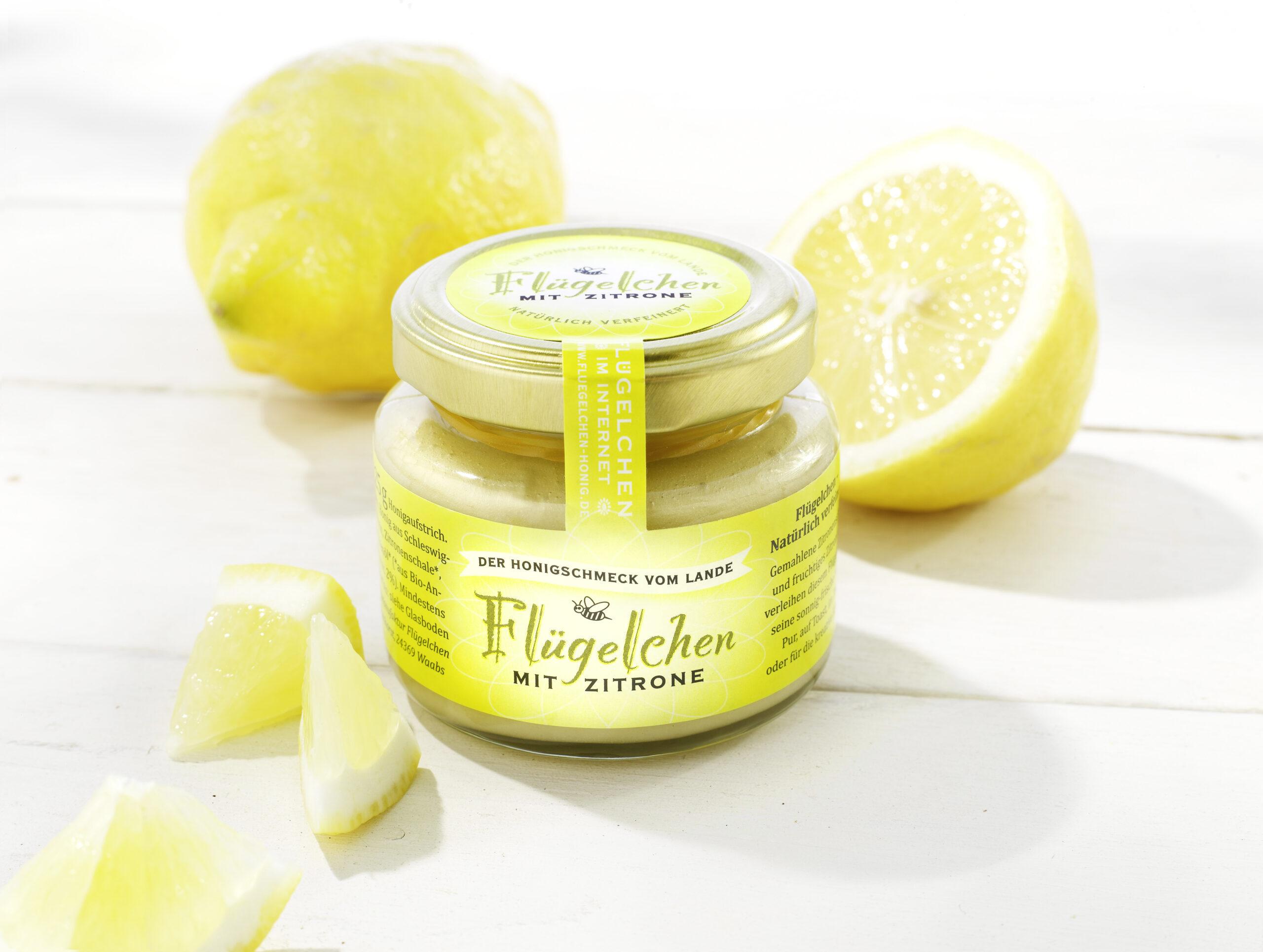 Flügelchen Zitrone 125g